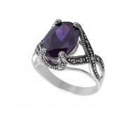 Перстень c аметистом 700311